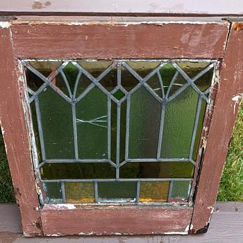 Stained glass window. - Art Glass