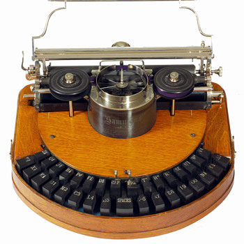 Hammond 1 typewriter - 1885