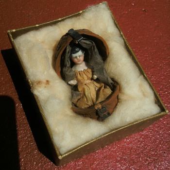 Doll in Walnut Shell - Dolls