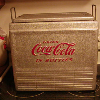 Rare Coca-Cola Cooler?