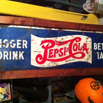 Vintage Pepsi Sign - Signs