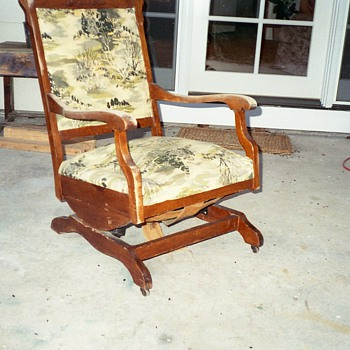 Great-grandmother's chair