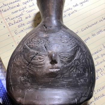 Mystery bone or clay bottle - Bottles