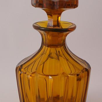 Amber Decanter - Bottles