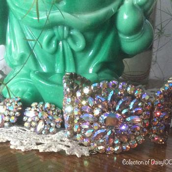 """Sherman Jewelry — """"Massive Design"""" Bracelet Cuff Set - Costume Jewelry"""