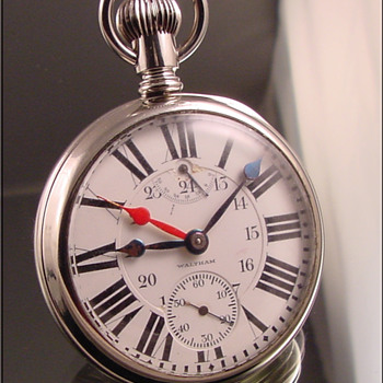 Waltham 23-Jewel Vanguard Pocket Watch - Pocket Watches