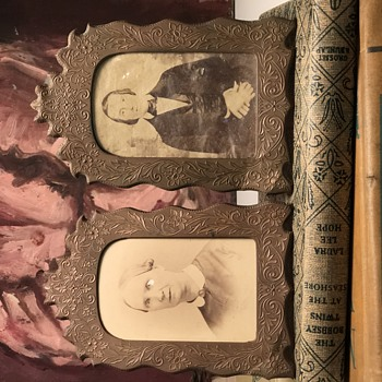 Help identify picture frame  - Fine Art