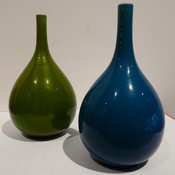 My Pair of Rörstrand SPD Vases - Mid-Century Modern