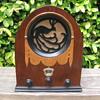 Rare Wood Jackson-Bell Peacock Tube Radio Model 62 from 1930