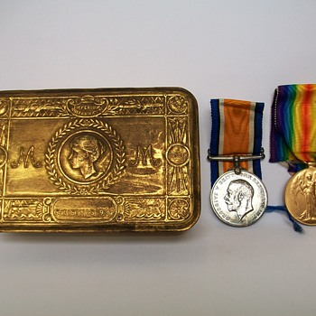 WW1 Medals to MID W E Jackson RNR - Military and Wartime