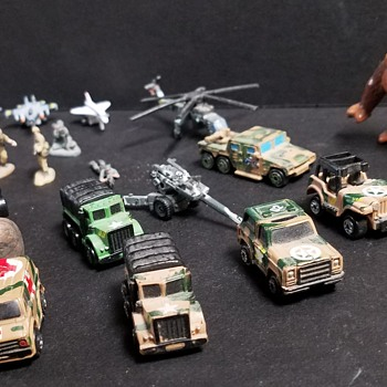 Micro Machines - Military - Model Cars