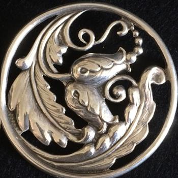 Scandinavian? American? silver brooch. - Fine Jewelry