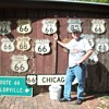 Just a few of my Route 66 sign collection