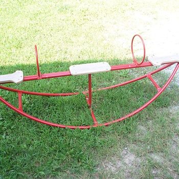 Old See Saw  (teeter totter) - Sporting Goods