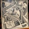 Vintage M. C. Escher 1953 Print