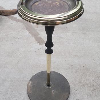 Pedestal Ashtrays part II - Tobacciana