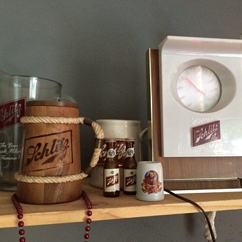 My remaining Schlitz collection
