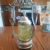 EAPG Vaseline Pickle Castor