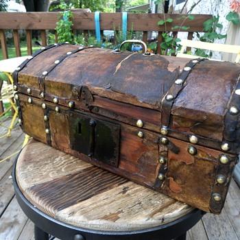 Antique Document Box 1810-1830's - Furniture