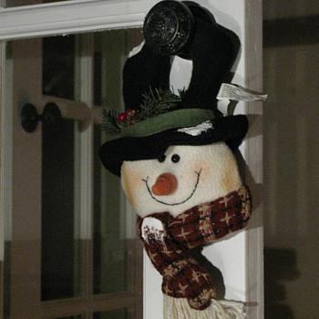 Mr Snowman Hanger