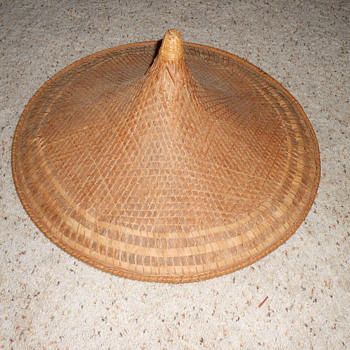 asian conical  coolie hat