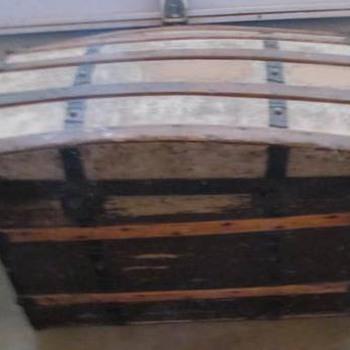 Antique Trunk #11 - Furniture