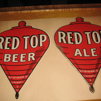 Red Top Figural Signs