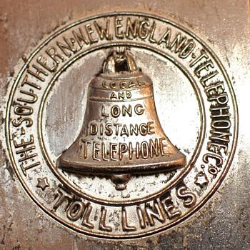 SNET Toll Line Match Holder - Telephones