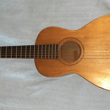 Antique Unknown Parlor Guitar - Guitars