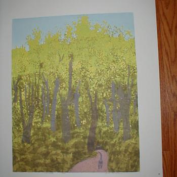 Jane Kraike serigraphs, pencil signed and titled, 307 prints!!  HELP!!!!