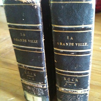 La Grande Ville Kock 1842 and 1843 - Books