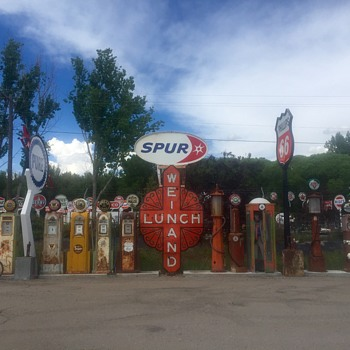Fuel and Food - Signs