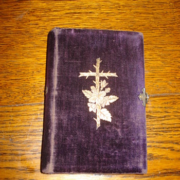 Happy Easter 2015 to al Collectors: antique Brunswick Bible - Books