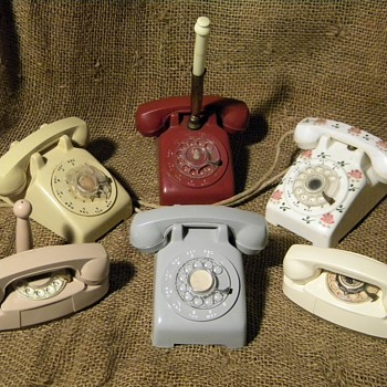 Telephone collectibles. - Advertising