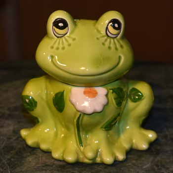 1970s Incense Burner Froggie - Animals