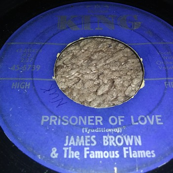 Very Early James Brown...On 45 RPM Vinyl - Records