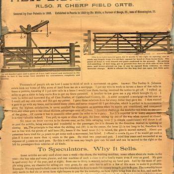 SLIDING GATE ADVERTISING  - Advertising