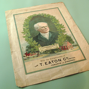 The T. EATON Co. Limited, Winnipeg The Maple Leaf Forever Anthem