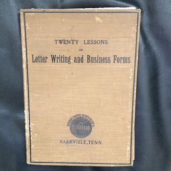 Letter Writing Book contains surprises Sheet music, Liberty Bell, Fighting Irish Broadside