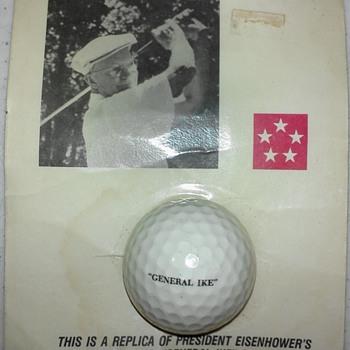 I Like Ike and Ike Likes Golf