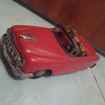 Japanese Tin Toy Car  - Toys