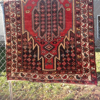 Beautiful Vintage Wool Rug, Help Me Identify - Rugs and Textiles