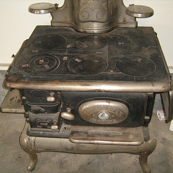 Antique cook stove by Columbian Palace - York, PA.  - Kitchen