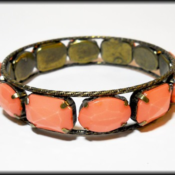 Old Bracelet - No marks  - Costume Jewelry