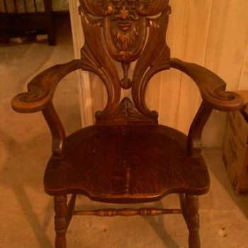 Antique chair - Furniture