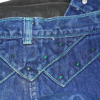 Vintage - FANCY ASS - BLUE JEANS ( Canadian ) 1980's  - Womens Clothing