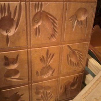 cookie molds for springerle (spelling)  - Kitchen
