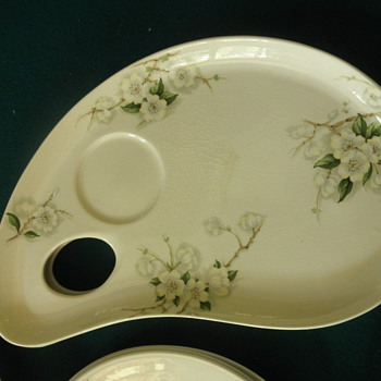 Palette plate Clarice Cliff Royal Staffordshire