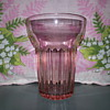 Anchor Hocking Pink Queen Mary Tumbler