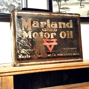 very rare oil can - Petroliana